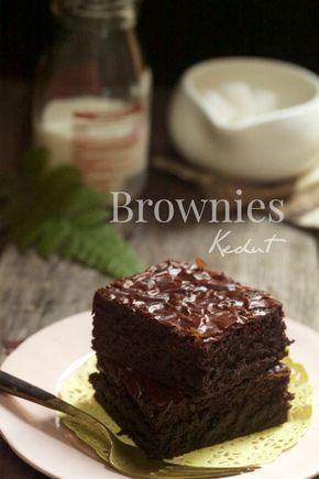 Masam Manis Chocolate Brownies Kedut Ide Makanan Dessert