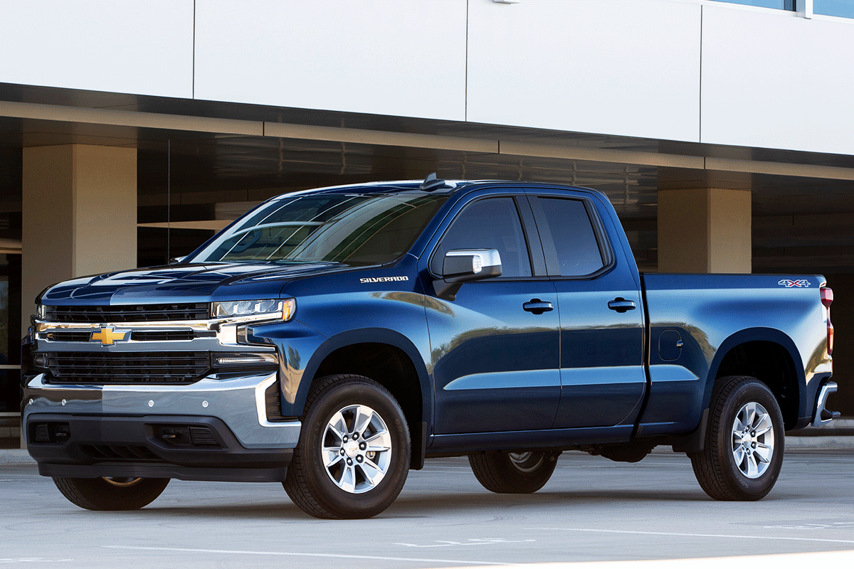 2019 Chevrolet Silverado A Full Sized Pickup Truck That Boasts 20
