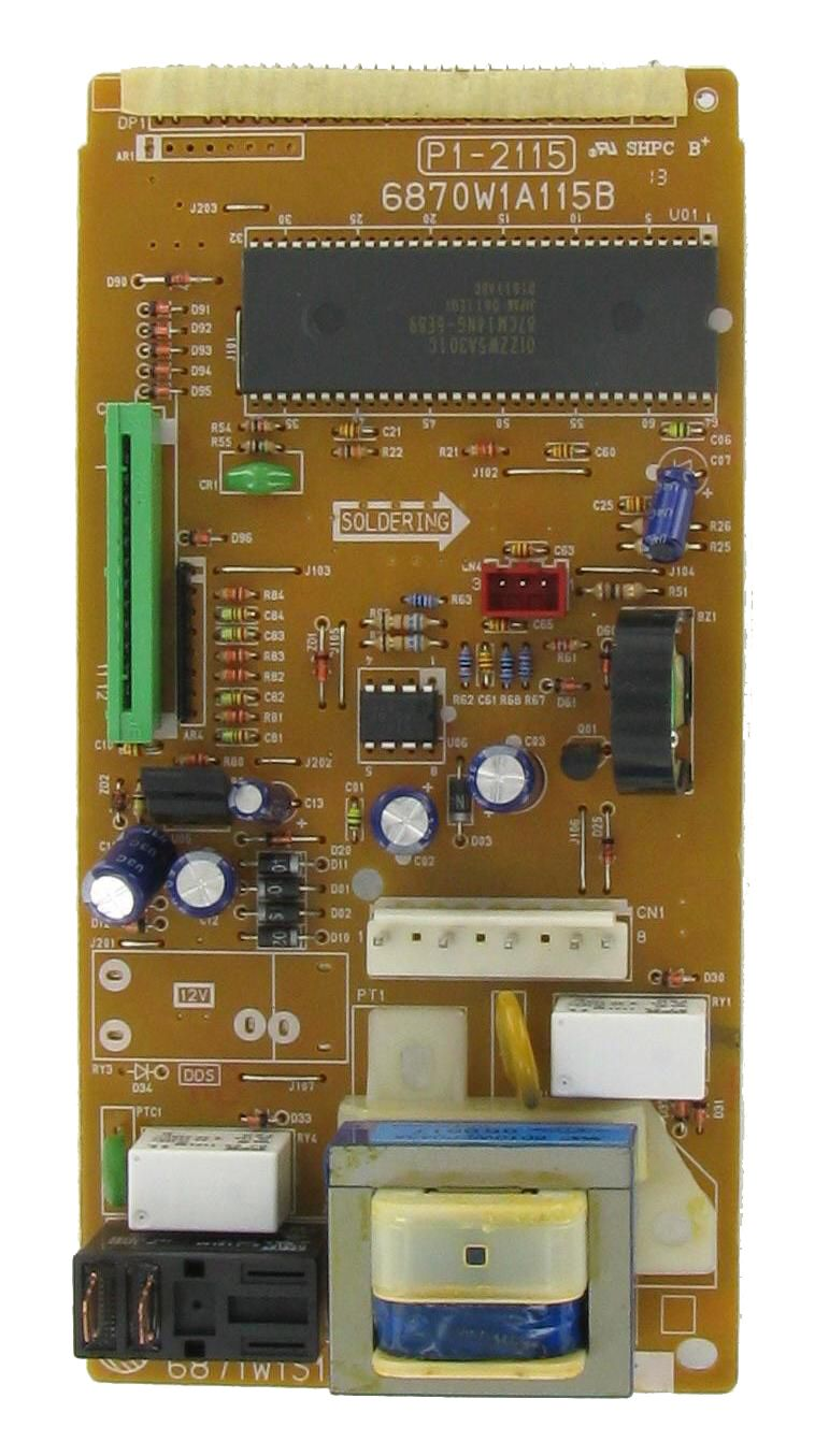 LG / KENMORE 6871W1S115X Microwave PWB Control Board