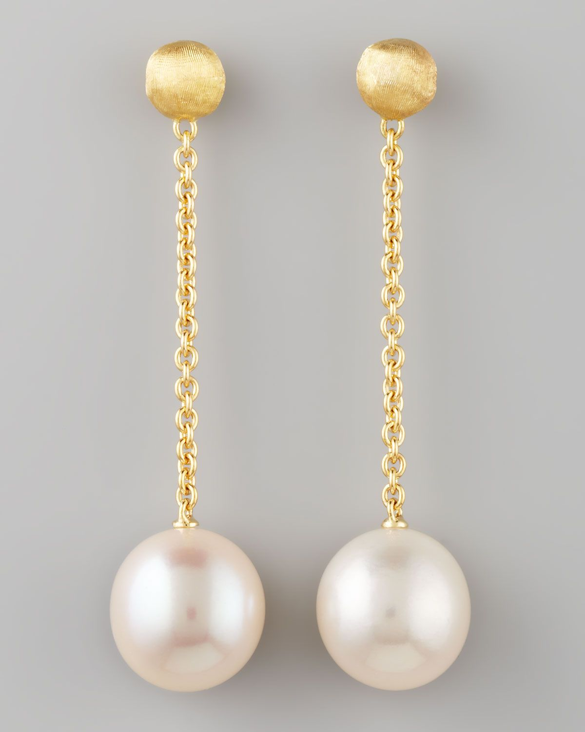 single gold pearl willow yellow product jewellery elegant earrings cultured stud freshwater road london