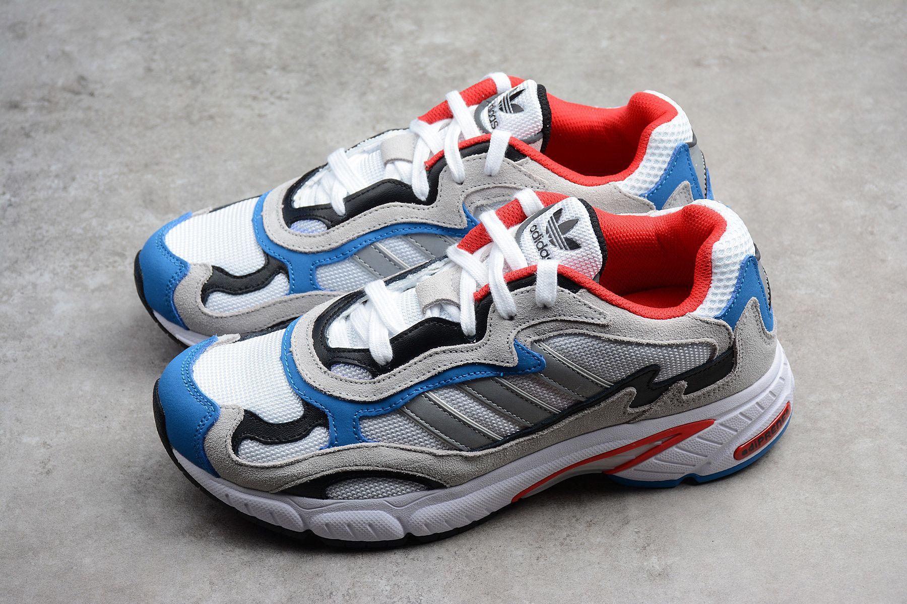 Adidas Temper Running Man red white