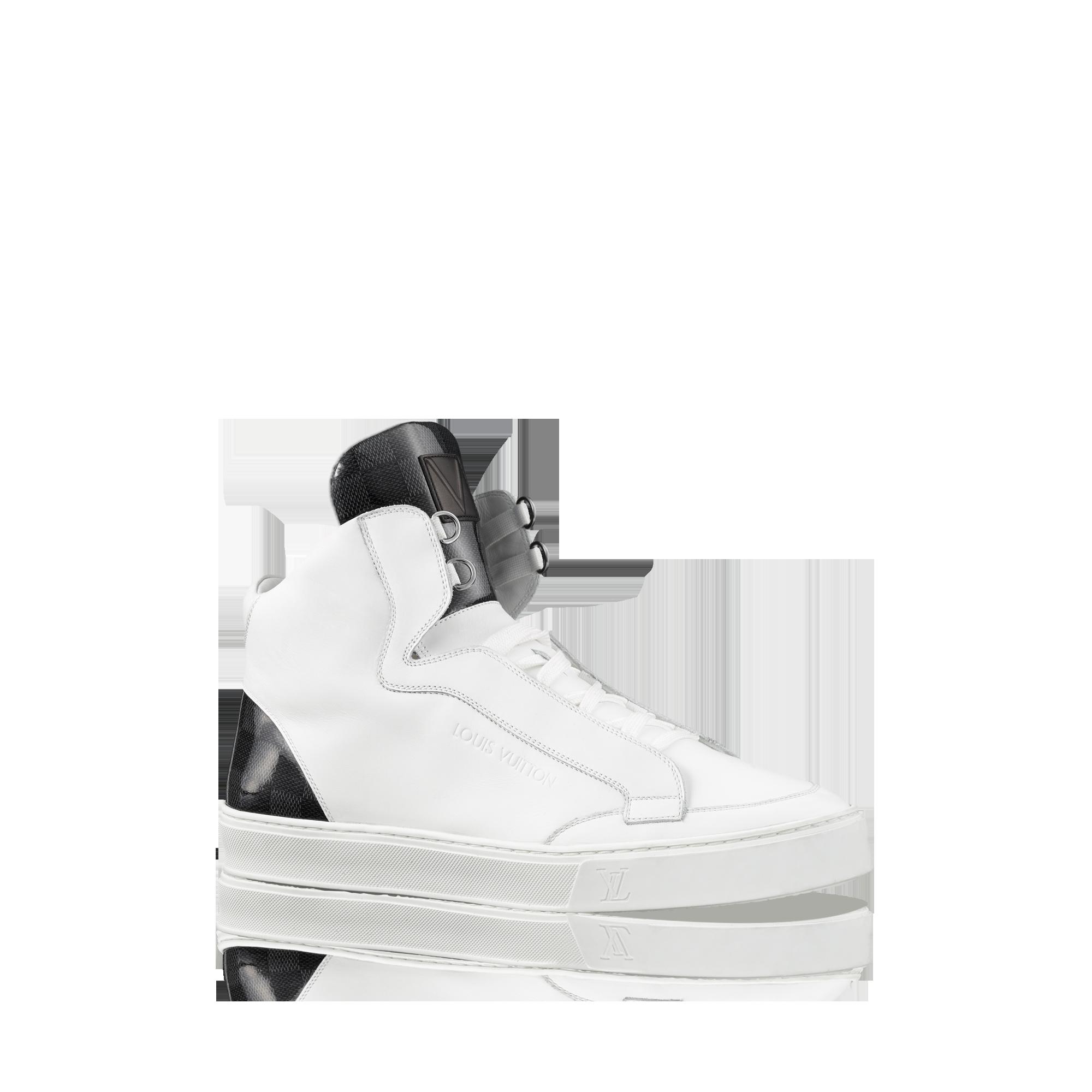 adacbd1ad3f Louis Vuitton Speaker Sneaker Boot from LV Online #LouisVuitton ...