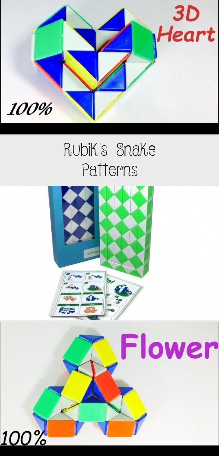 Rubik's Snake Patterns snakegamePoster