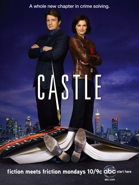 Castle Season 1 Poster Tv Castle Series Y Peliculas Temporadas