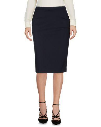 SCERVINO STREET Women's Knee length skirt Dark blue 4 US