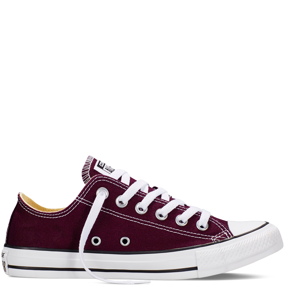 Converse Chuck Taylor All Star Fresh Colors – black cherry Sneakers