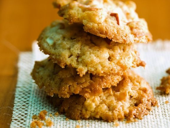 Apfel-Hafer-Cookies ist ein Rezept mit frischen Zutaten aus der Kategorie Kernobst. Probieren Sie dieses und weitere Rezepte von EAT SMARTER!