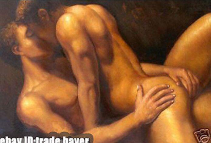 gay men art naked