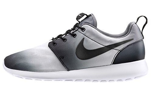 site réputé 1b6e9 5dca1 Nike Roshe Run Print Faded Noir Blanc Noir 43 | kicks ...
