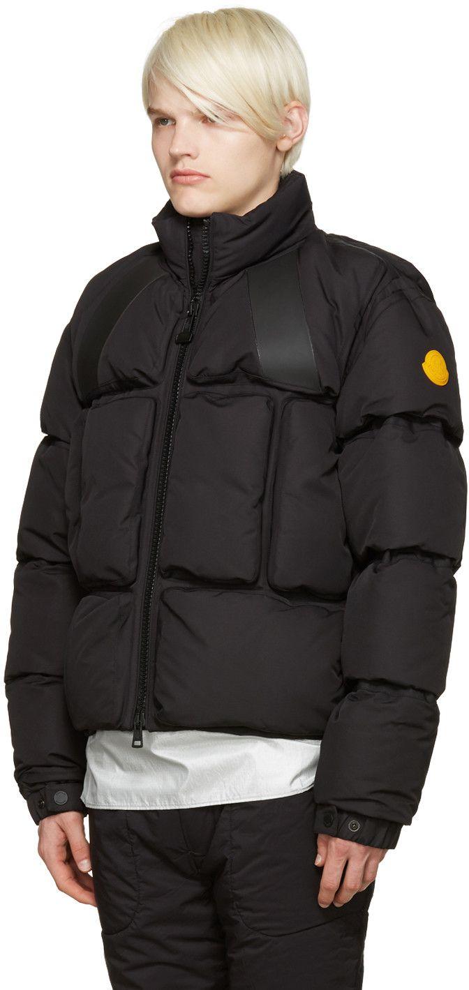 Moncler O - Black Trouville Jacket
