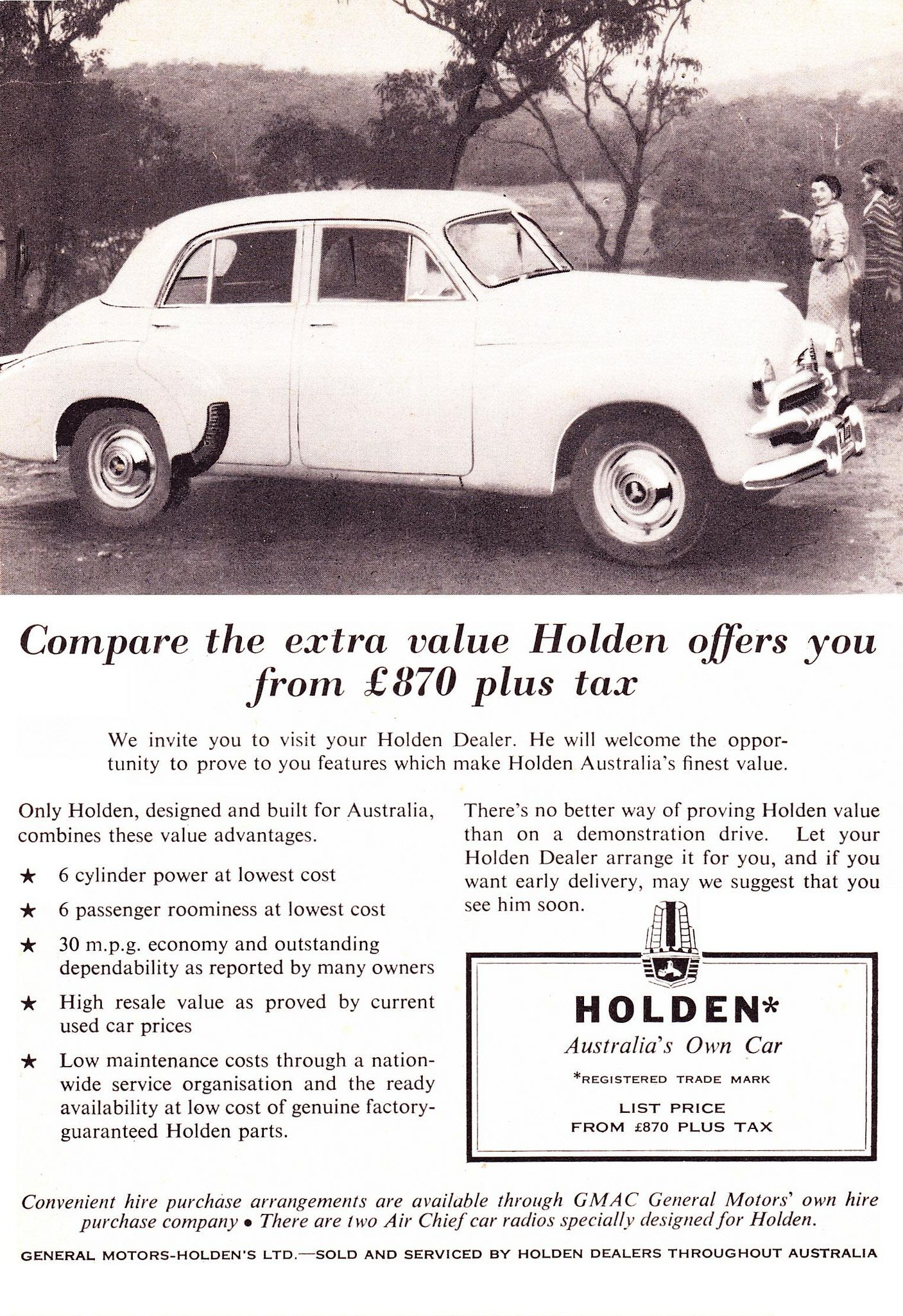 1955 Fj Holden Sedan Aussie Original Magazine Adver Vintage Autos Australian Cars Australia
