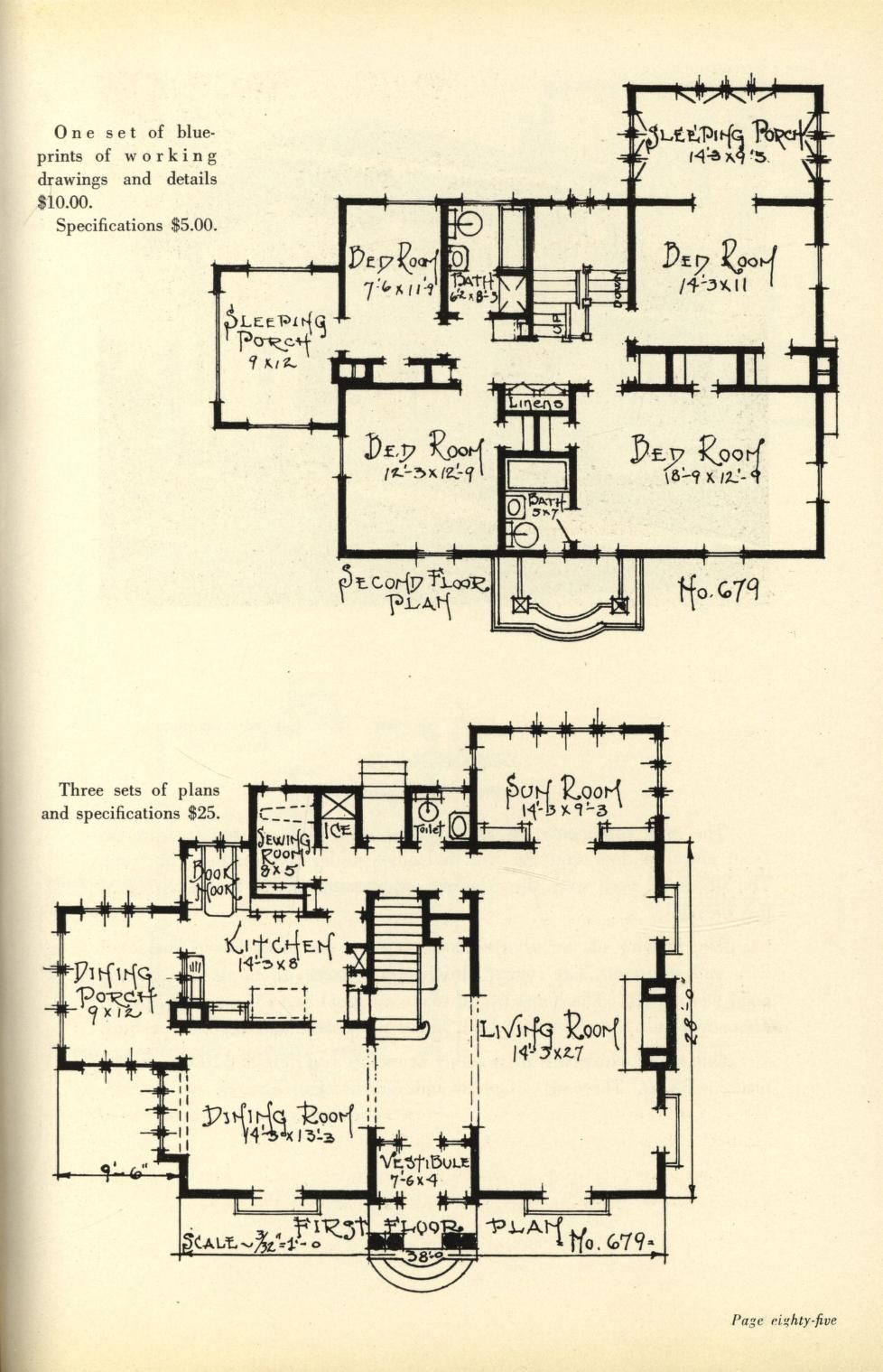 Two story homes 1800s 1940s house plans pinterest two story homes malvernweather Choice Image