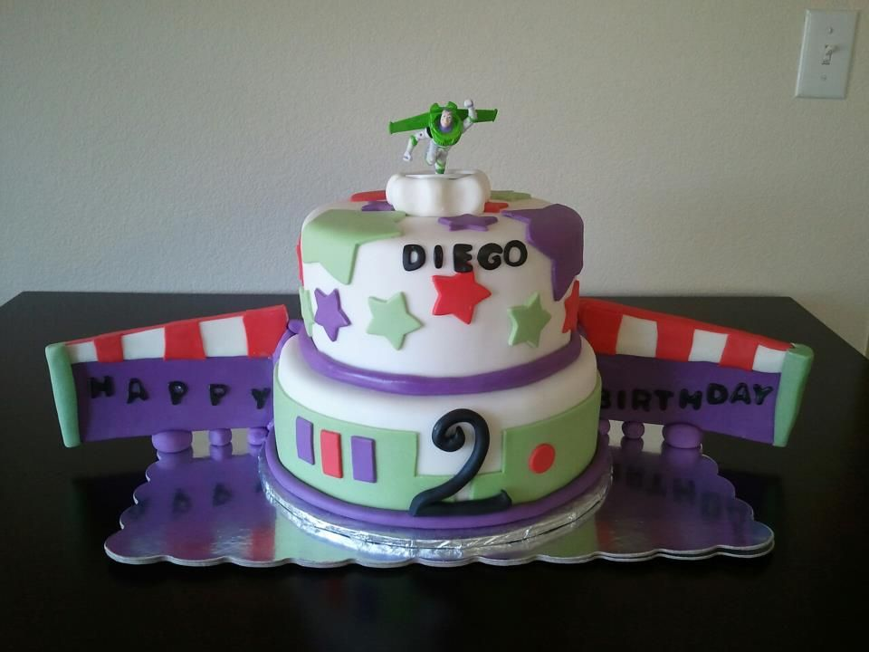 Buzz light year cake, Made by Cakes by Chess, Like us on Facebook!