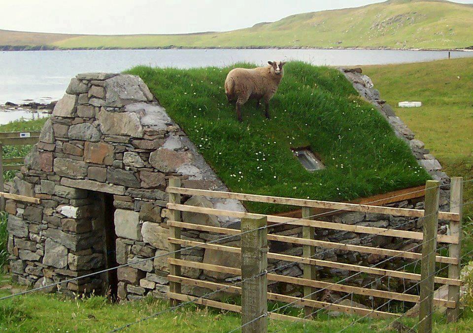 The Little Hermitage Shetland Islands Scotland Green Roof