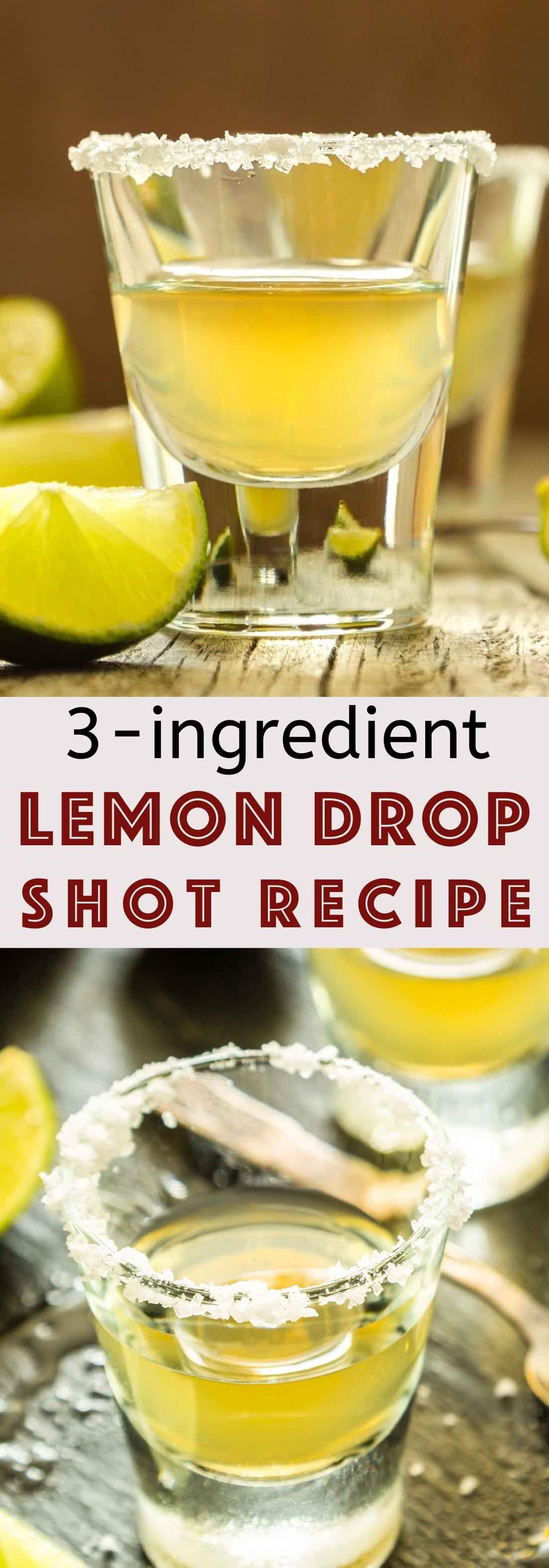 Best lemon drop shots recipe in 2020 lemon drop shots