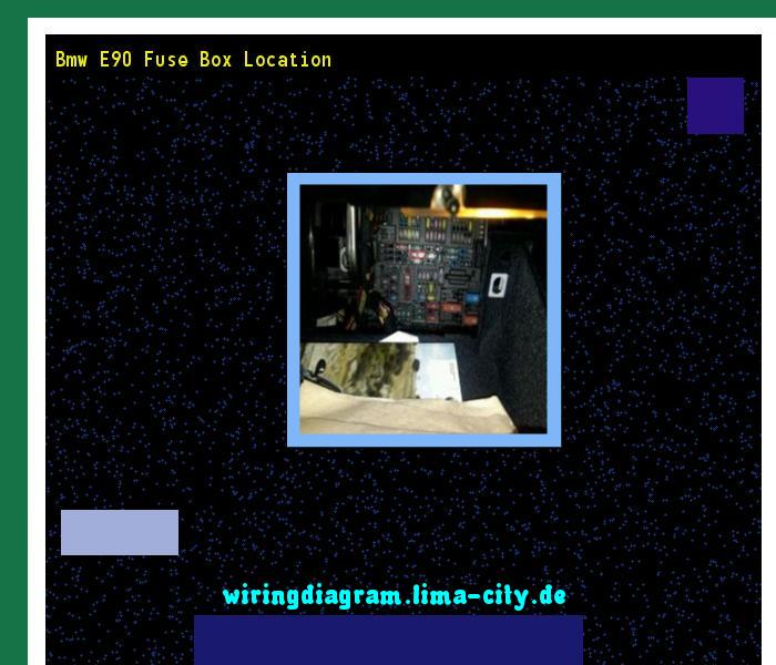 Fuse Box Location E90 Bmw
