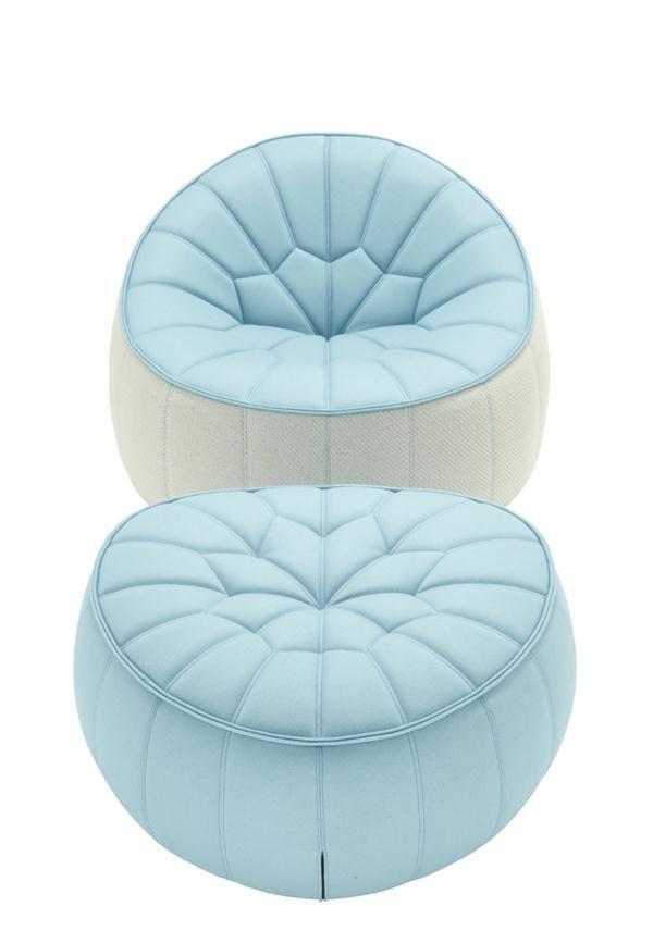 Ottoman from Ligne Roset | furniture | Pinterest | Mobilier