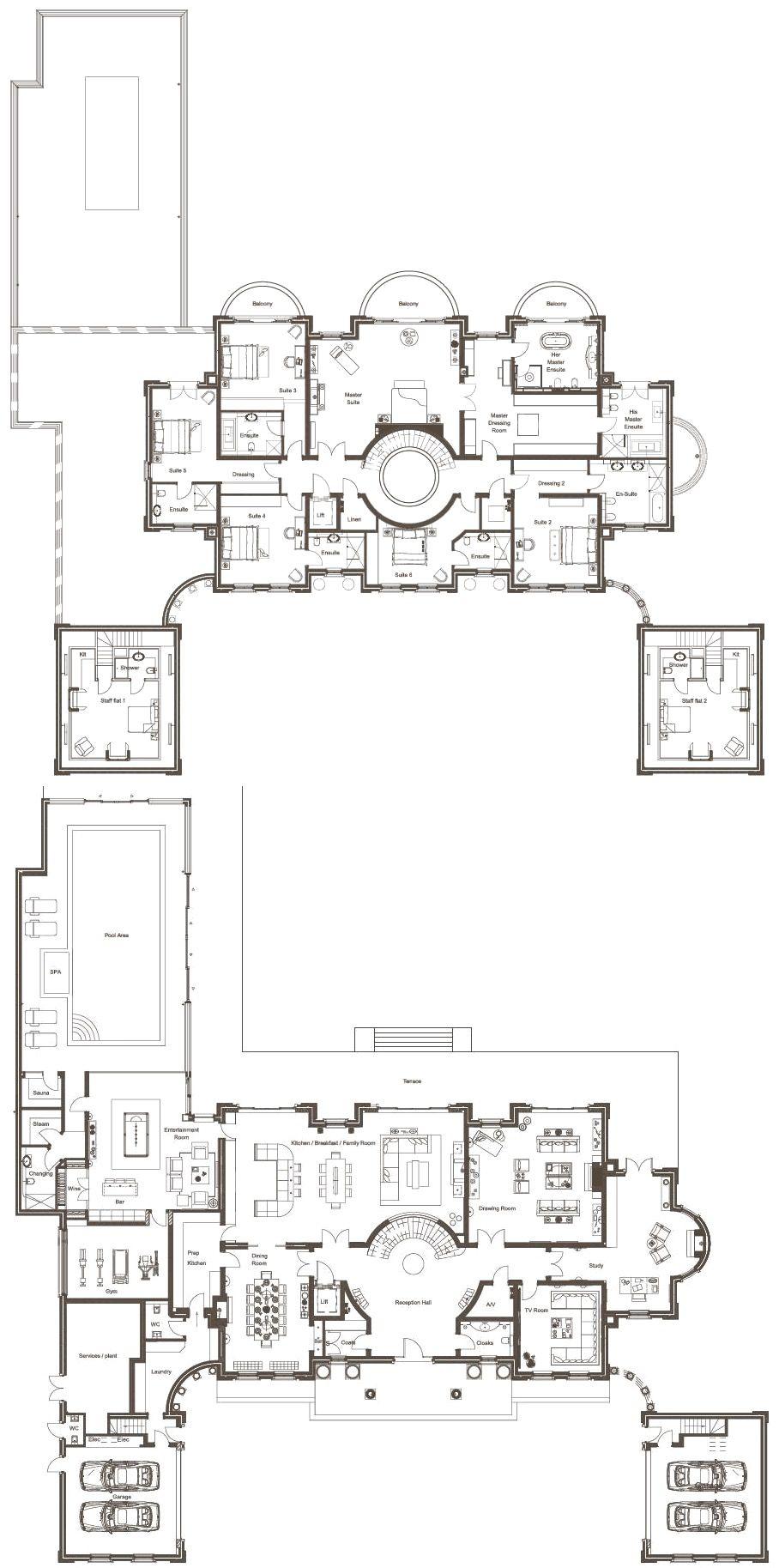 House plan also plans in floor rh pinterest
