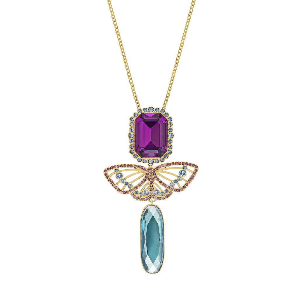 DEPHINI - Butterfly Necklace for women rcO4lIug