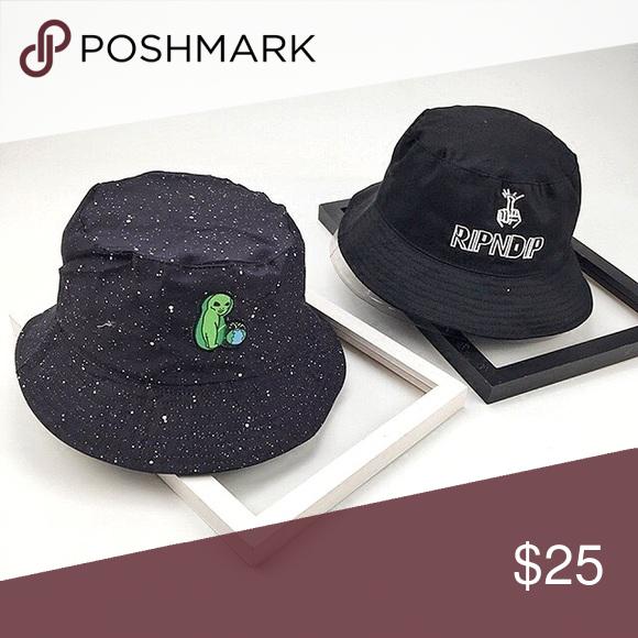 6098758f100c6 ... Space Alien RipNDip Bucket Hat Reversible space alien peeing in the  world patch bucket hat. Other side has the brand name logo - Zumiez  Accessories Hats