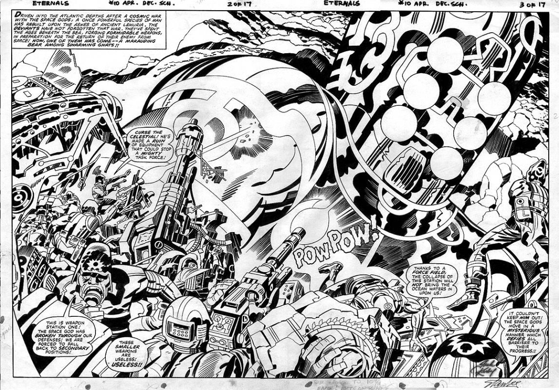 Image result for jack kirby comic artist