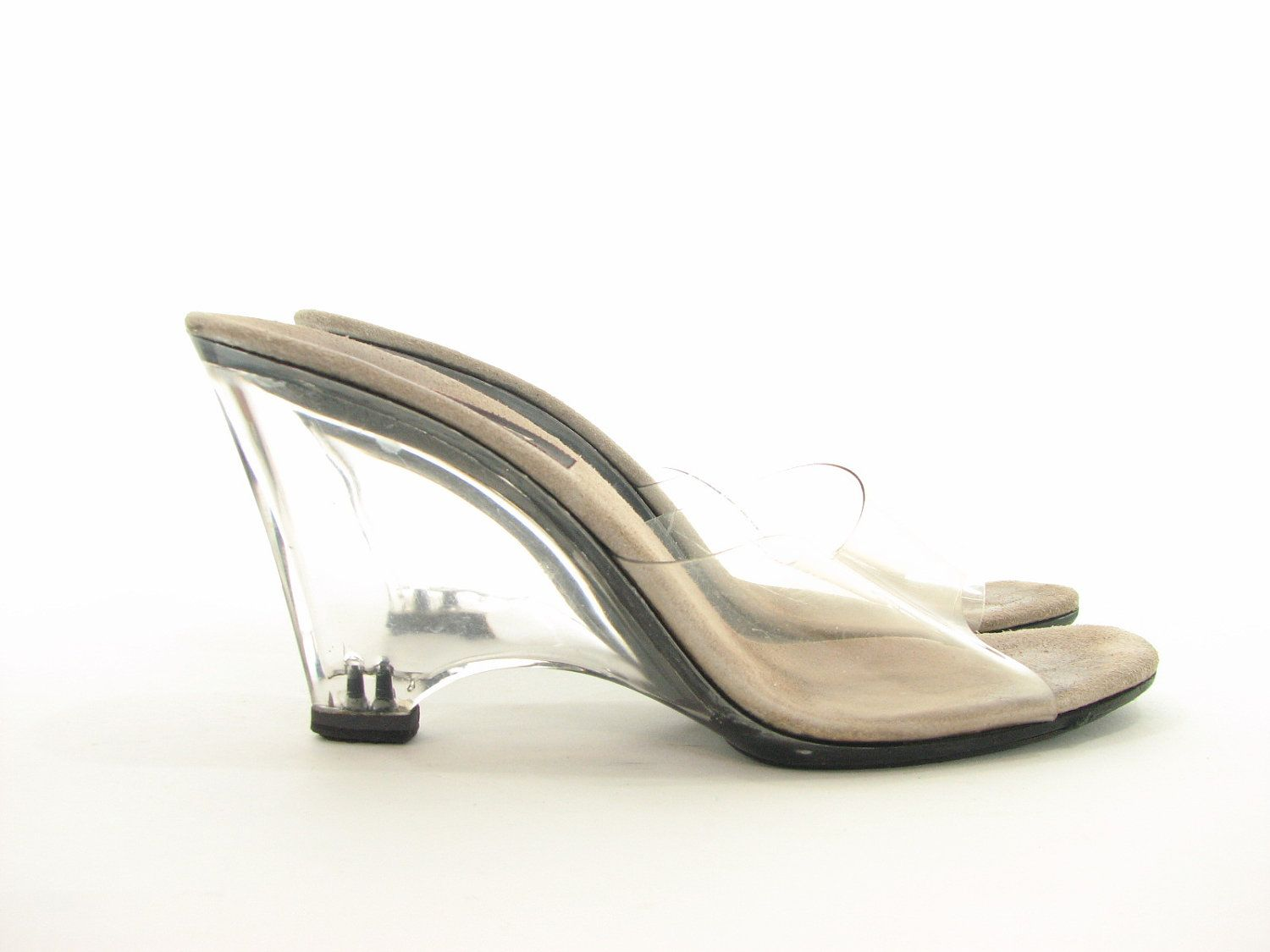 Clear Wedge Heels Heels Zone