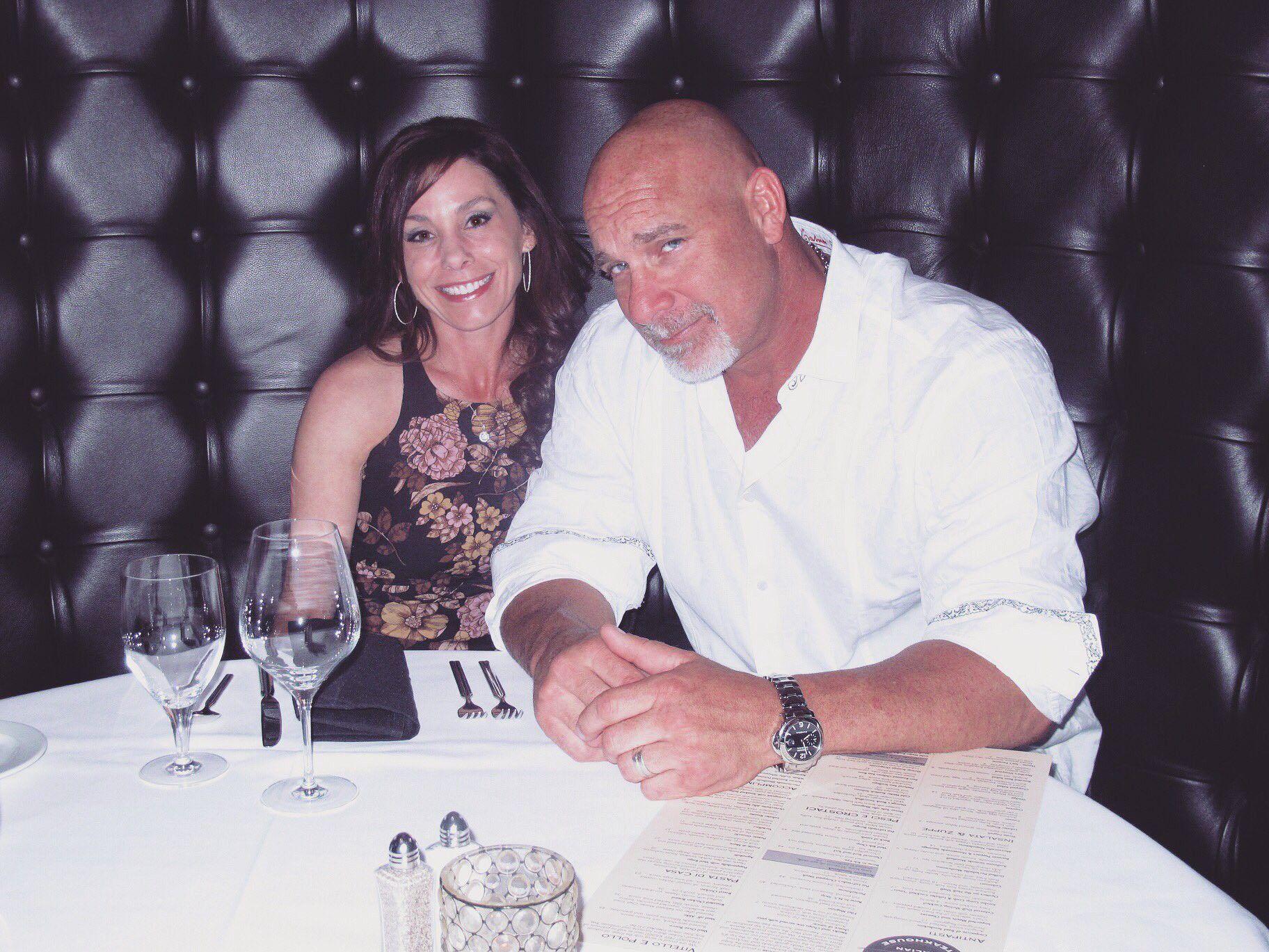 Goldberg & His Wife | Wwe couples, Wwe, Professional wrestling