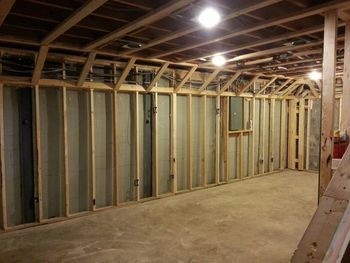 Clever Way To Add A Basement Soffit Without Taking Up More