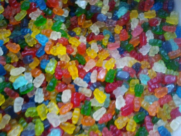 Gummy bears!!!!!!!!!!!!!!!!!!!!!!!!;p