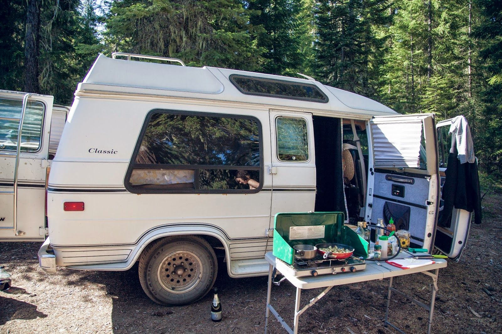 Van camping <3