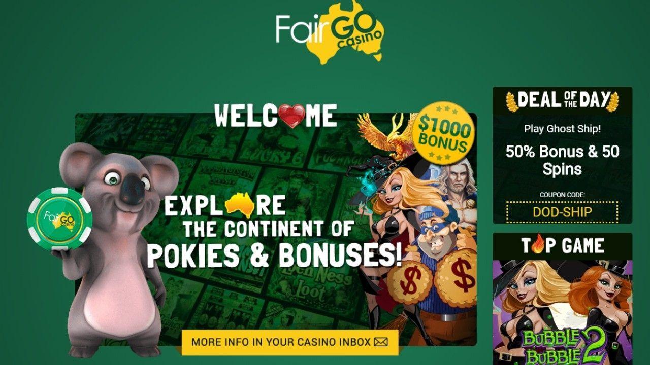 Latest Fair Go casino no deposit bonuses 2020. 10 free