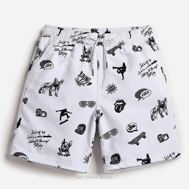 Get Adult males Casual Beachfront Panel shorts Easy Drying Boxers Person Loose Working Trunks Adult...