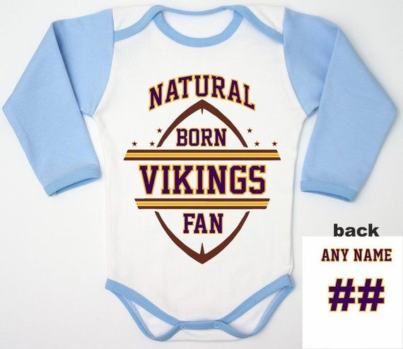 differently 08dbf f05f2 Vikings Bodysuit Gift For New Dad, Personalized Baby Romper ...