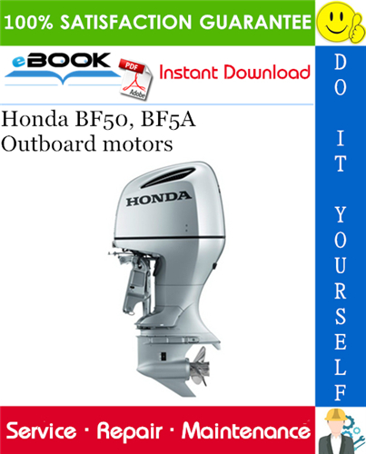 [SODI_2457]   Honda BF50, BF5A Outboard motors Service Repair Manual . This is the  COMPLETE Service Repair Manual for the Honda BF50,… in 2020 | Repair  manuals, Outboard motors, Outboard | Honda Bf50a Wiring Diagram |  | Pinterest.ie