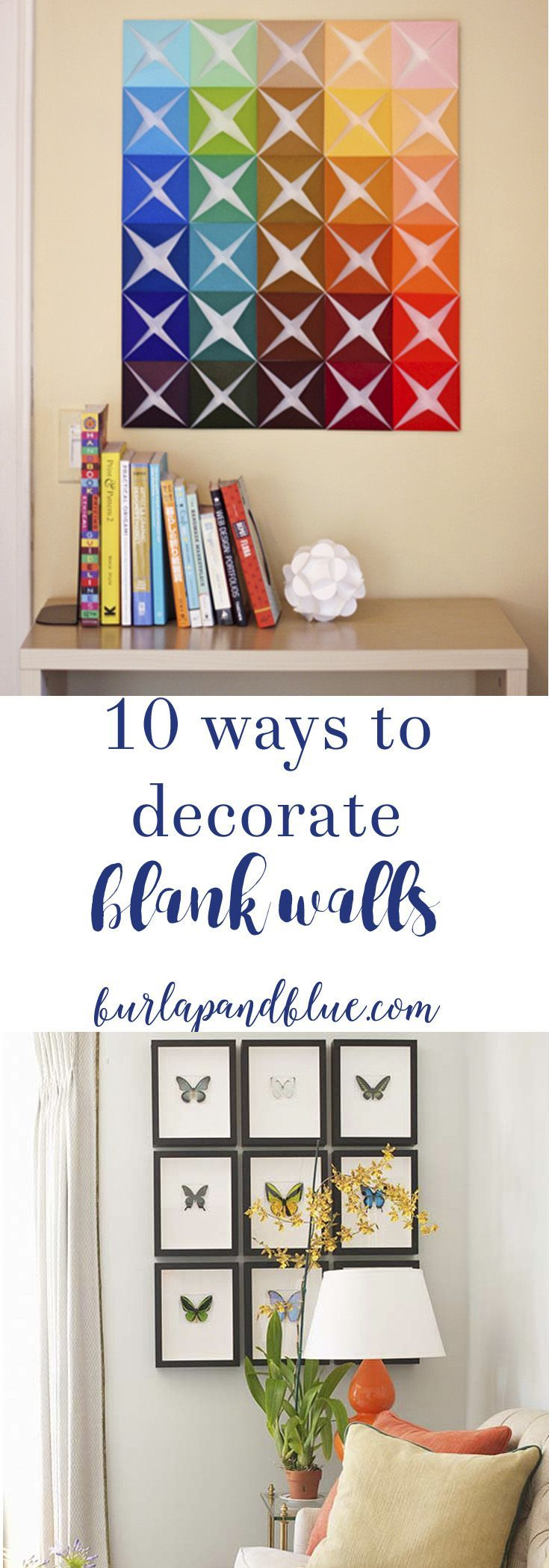 amazing and easy ways to decorate blank walls creative walls