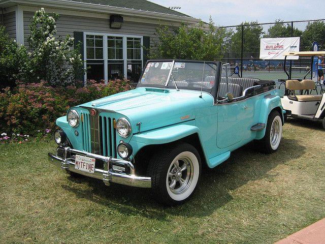 1951 Willys Jeepster Convertible Autos Y Motos Autos Y Convertible