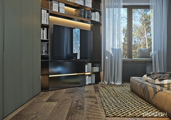 Awesome a suburban kiev apartment design with luxury and budget in mind