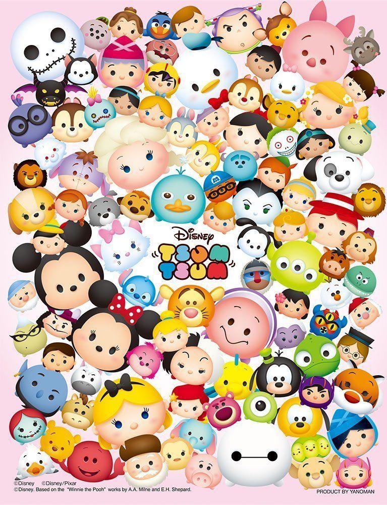 Disney Tsum Tsum Disney Dessins Disneyécran Disneyfond