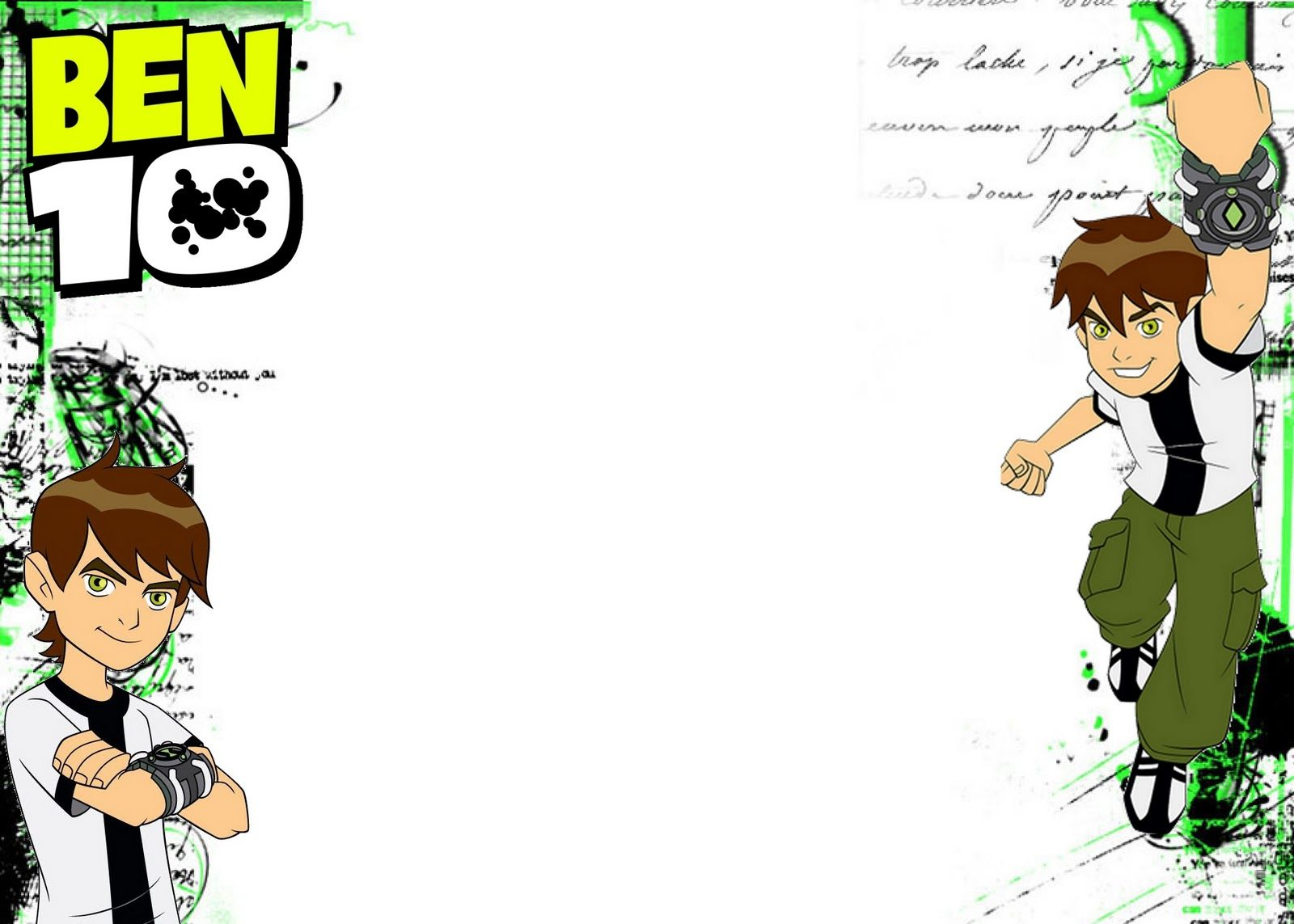 8 ben 10 birthday invite ideas ben 10