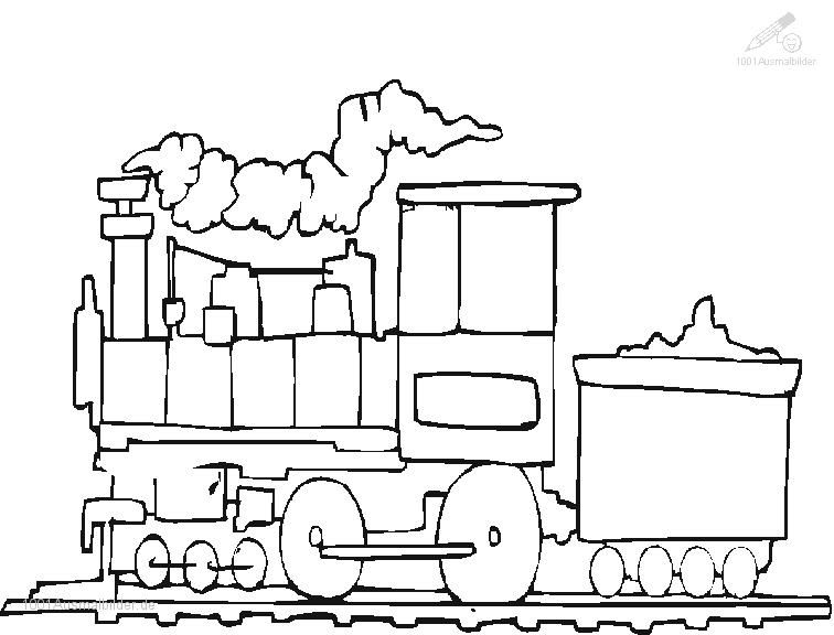 Train Fahrzeuge Zug Ausmalbild Zug | Ausmalbilder | Pinterest ...