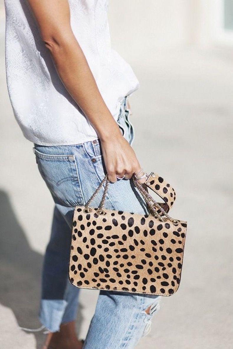 Más De 40 Looks Que Prueban Que El Animal Print Siempre Es Una Jugada Chic Y Cool #bags