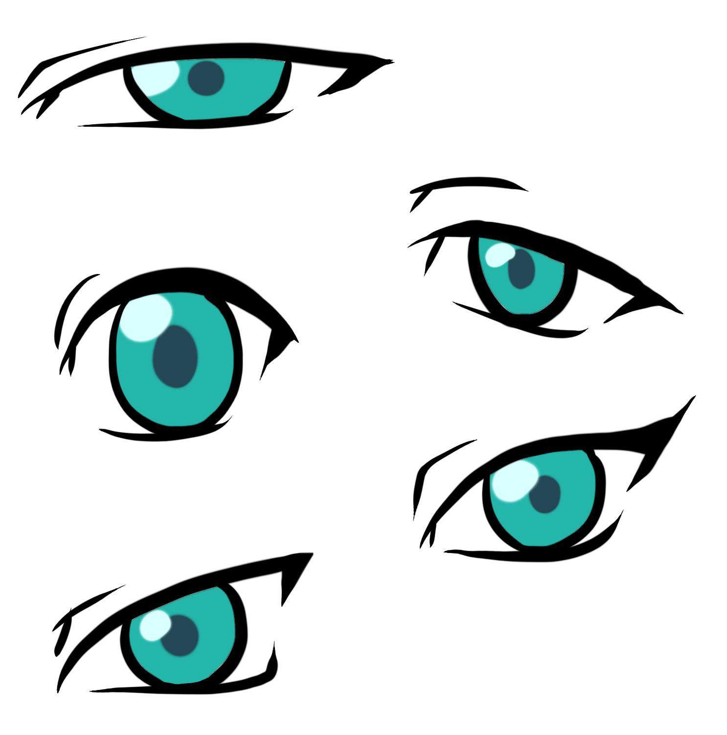 Adding Style To Manga / Anime Eyes