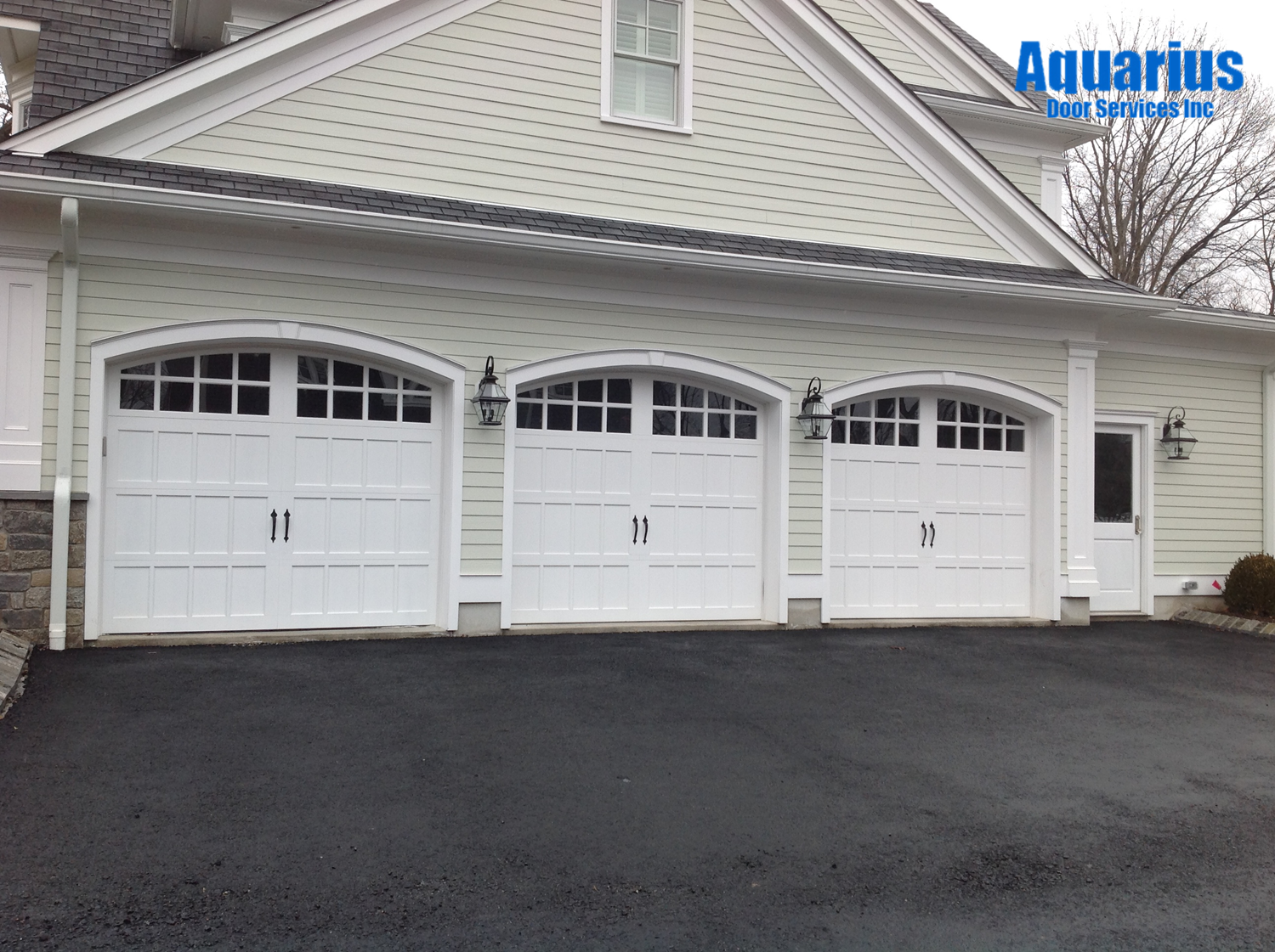 Clopay Reserve Collection Semi Custom Wood Carriage Style Garage Doors,  Design 4 Arch4 Windows