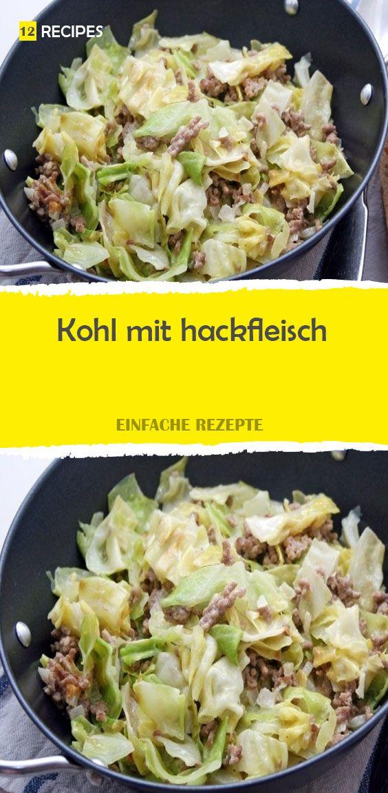 Kohl mit hackfleisch #spitzkohlrezeptehackfleisch