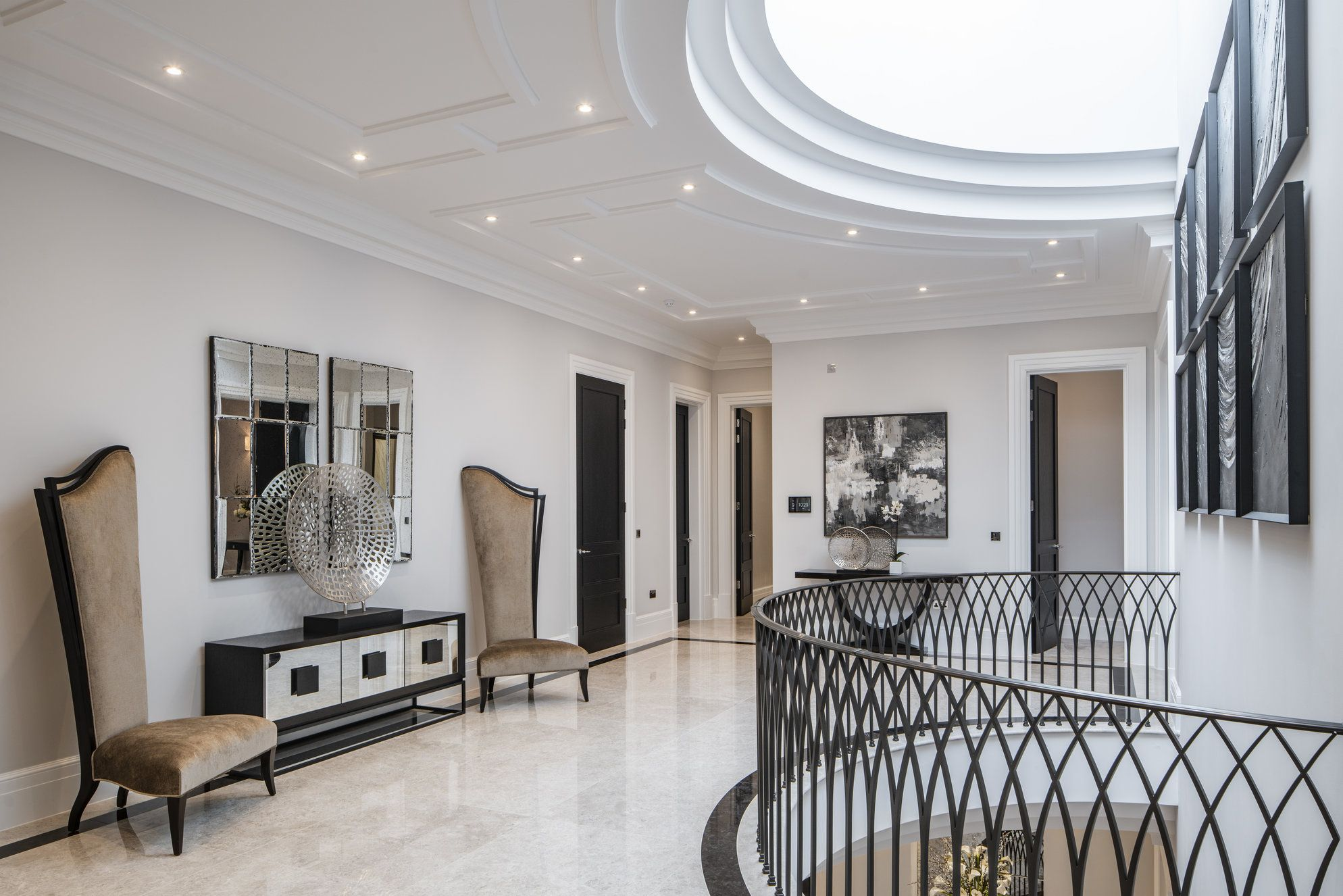 Our Architectural Design On The First Floor Of This Surrey Mansion