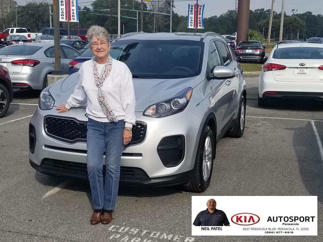 Neil Patel And KIA AutoSport Of Pensacola Would Like To Thank Ms. Patricia  King On