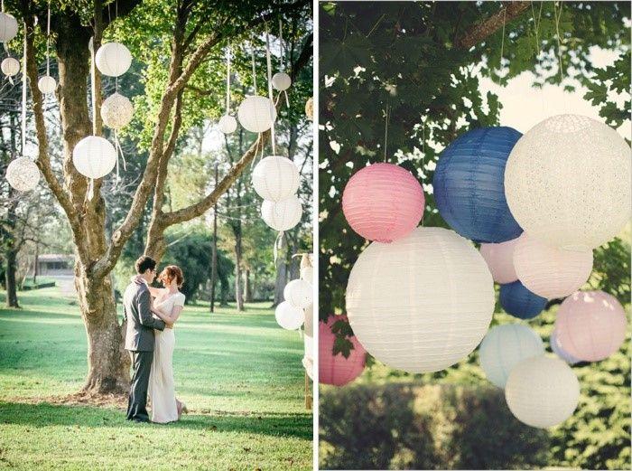 Ideen Fur Gartenhochzeiten Baume Dekorieren Hochzeitsideen Wedding