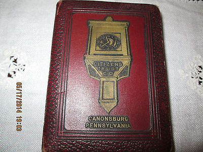 book of thrift coin bank key