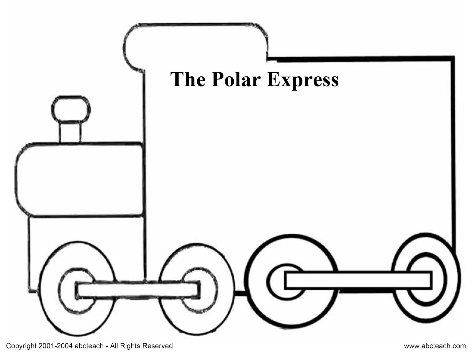 Undefined Christmas Books Polar Express Free Activities [ 1193 x 1600 Pixel ]