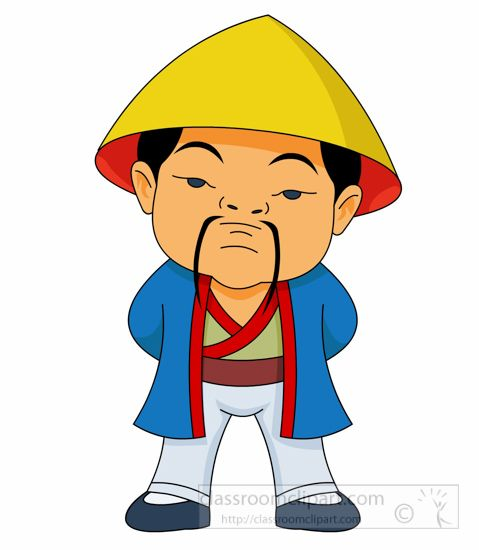 man in treditional costume standing ancient china clipart jpg rh pinterest nz china clip art free china clip art free